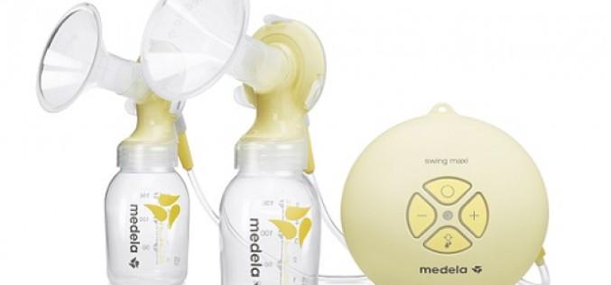 Swing  Maxi: Eficaz extractor eléctrico doble de leche de Medela
