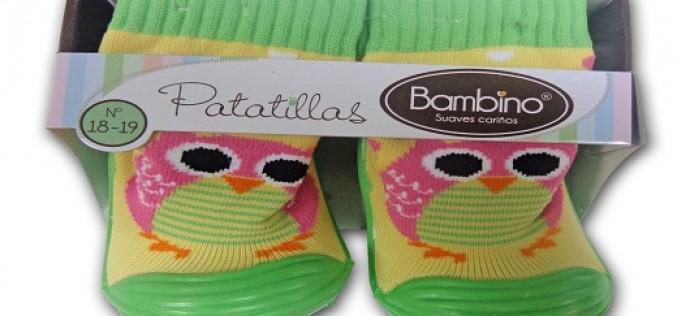 Acompaña a tu hijo en sus primeros pasos  con las nuevas patatillas Bambino