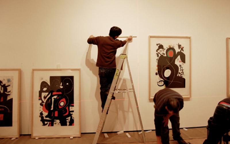 """Joan Miró para todos: Exposición """"La Fuerza de la Materia"""""""