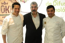 Chef peruano Flavio Solorzano participó en seminario chileno 100k