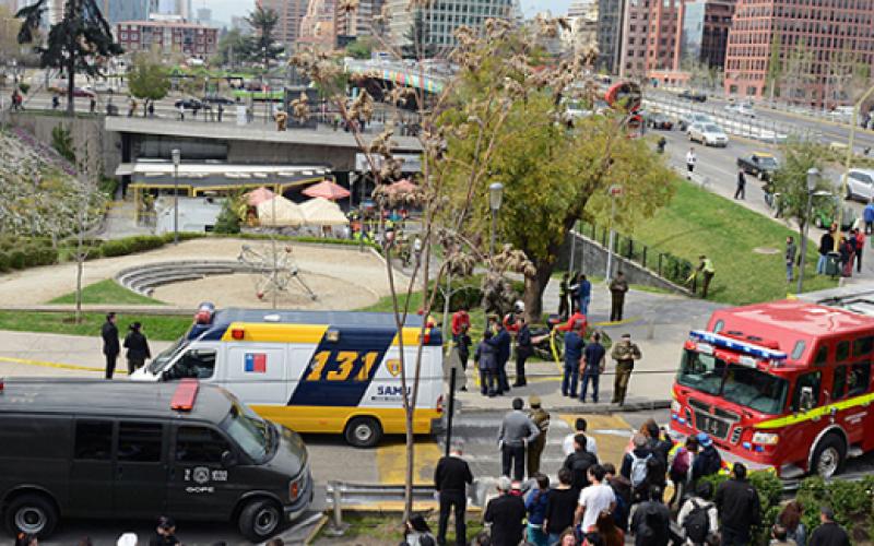 Bombazo en Subcentro de metro Escuela Militar deja ocho heridos