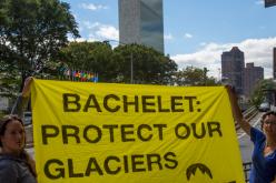 República Glaciar llega hasta la ONU para pedir a Bachelet ley glaciar 5 estrellas para Chile