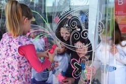 Niños con cáncer y de programa del Sename recibieron septiembre con fiesta de volantines
