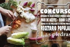 Crea tu propia receta y sé parte del Recetario Popular Las Piedras
