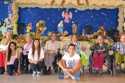 Abuelos de Fundación Las Rosas Celebraron Navidad