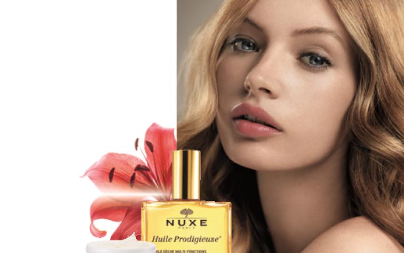 De la mano de Casa Moure llega desde París la reconocida línea dermocosmética Nuxe