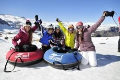 Parques de Farellones ya inauguró la temporada de invierno
