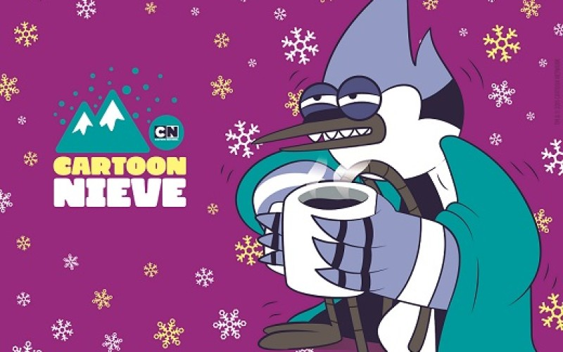 Tus personajes favoritos de Cartoon Network y DirecTV, en Valle Nevado