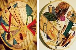 """Exposición """"El collage a la hora del té"""" en Centro Cultural Scuola"""