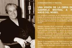 Conversatorio poético y recital:Gabriela revisitada
