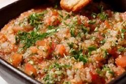 Pebre cuchareado de Quinoa