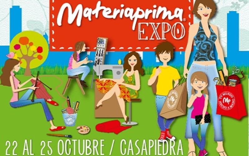 Expo Materiaprima, la gran feria de manualidadesvuelve a Casapiedra