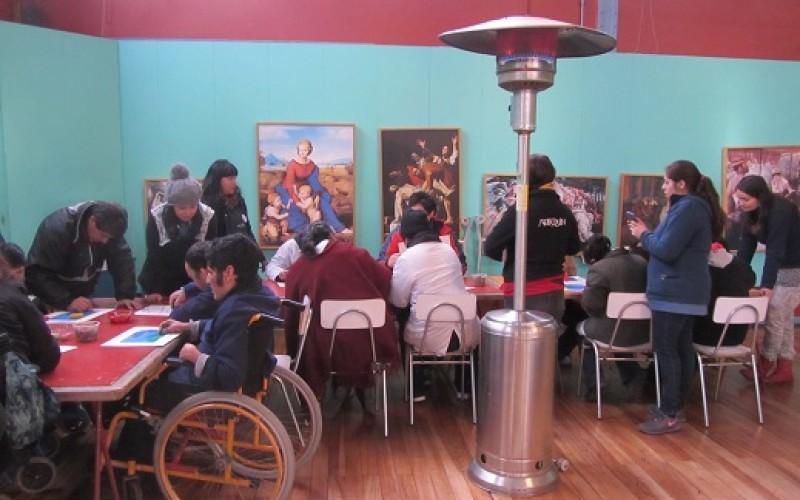 Artequin celebra Semana de la Inclusión a través del arte
