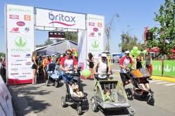 Famosos calientan motores para correr junto a sus hijos en la 3a versión de la Baby Race by Britax