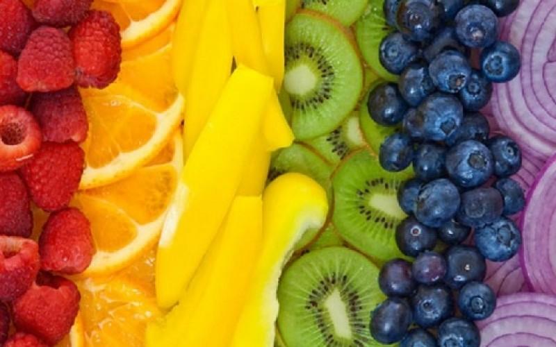 Dieta de los colores: Menú vitamínico en verano y en vacaciones