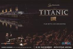 """""""Titanic Live"""" en el Movistar Arena en el Día de los Enamorados"""