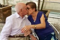 Una linda historia de amor entre adultos mayores