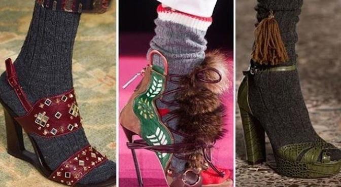 Sandalia-calcetín