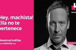 Campaña #HeForShe suma a rostros nacionales para defender la igualdad de género