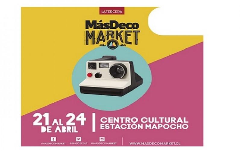 MásDeco Market se toma la Estación Mapocho
