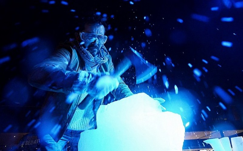 El hielo protagoniza la fiesta de invierno