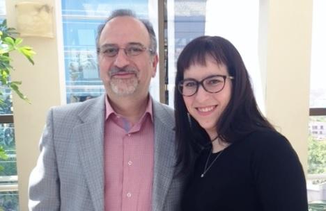 Dermatólogo Rodolfo Klein y Nutrióloga Paula Klein