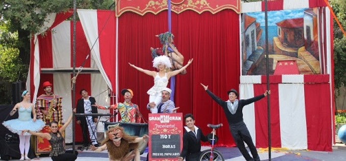 """Vuelve """"Sueños de Circo"""" a Santa Rosa de Apoquindo"""
