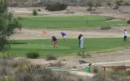 Cacha golf Puerto Velero