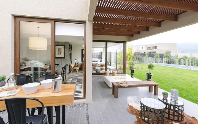 Tips para decorar las terrazas mujeres y m s for Luces de exterior para terrazas