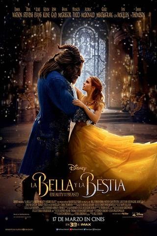 Afiche la Bella y la Bestia