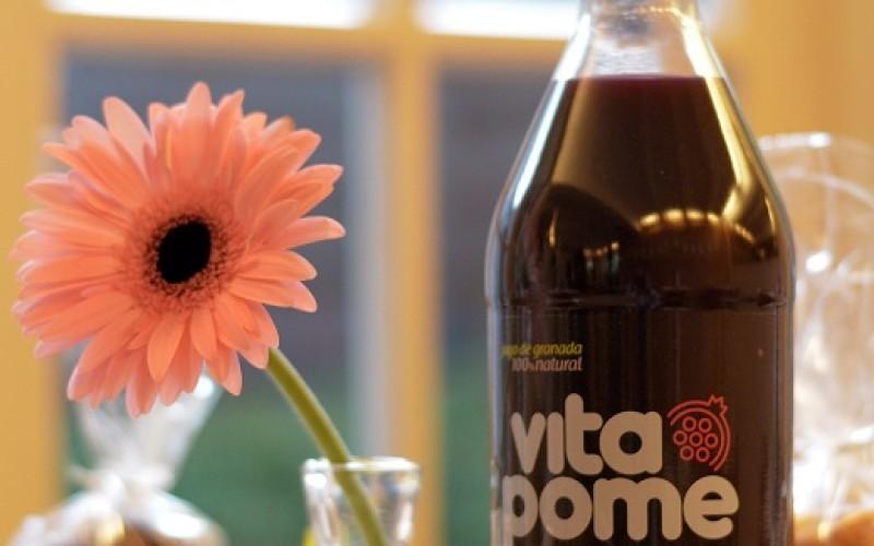 Vitapome: primer jugo de granada hecho en Chile 100% natural
