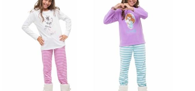 Conoce la primera línea de pijamas Flores para niñas