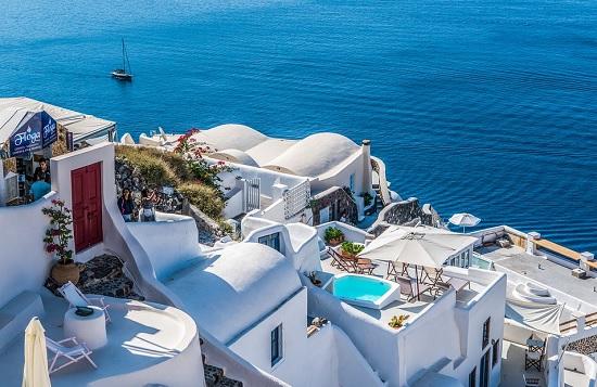 Viaje, Oia Santorini