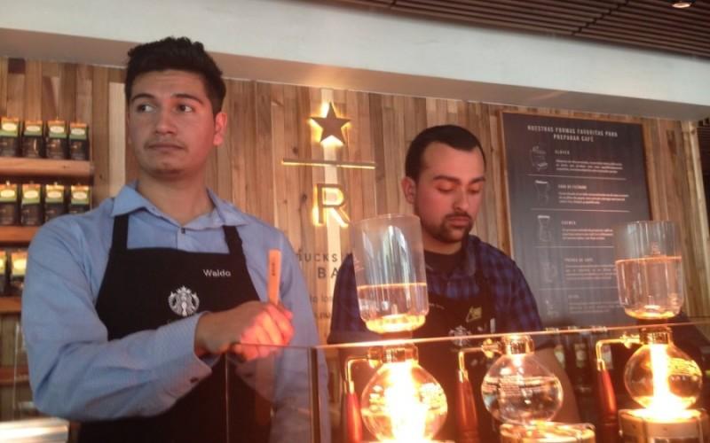 Starbucks Reserve: café a la barra