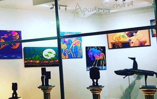 """El arte de """"Agua Santa"""""""