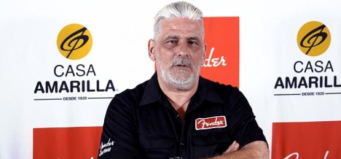 """Jorge """"Ash"""" Zeballos, el último luthier de Cerati: """"Gustavo era un tipo que iba para adelante"""""""