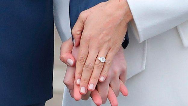 Anillo diseñado por el Príncipe Harry, para su prometida.