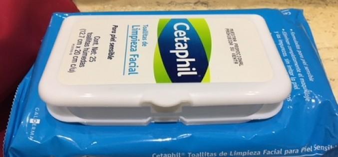 Un nuevo must en limpieza facial: toallitas Cetaphil