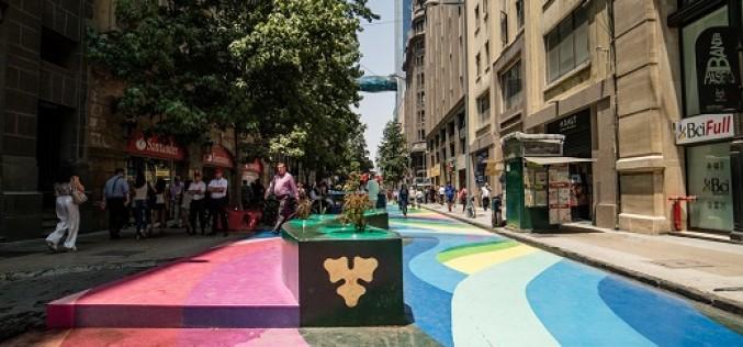 Paseo Bandera se inaugura con gran estructura artística, cine y actividades gratuitas