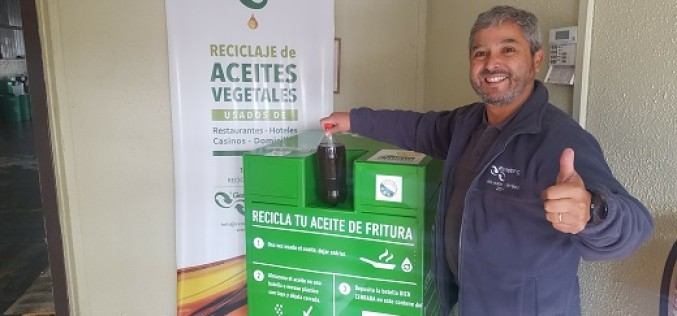 ¿Dónde y cómo reciclar el aceite vegetal?